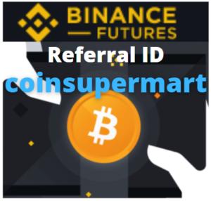 Binance future referral id